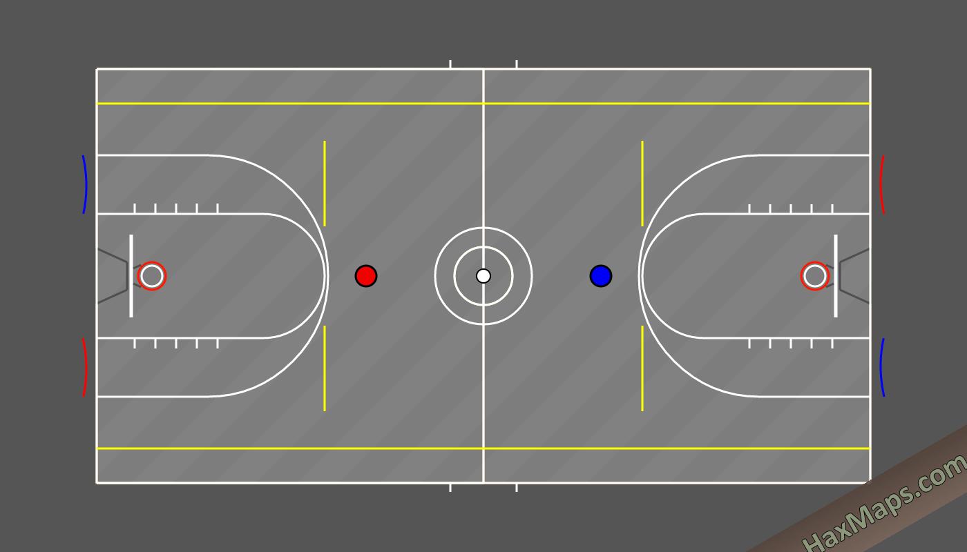 hax ball maps | Real Basketball v2
