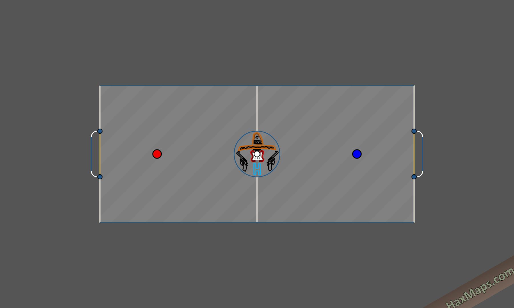 hax ball maps | Os Hermanos Arena
