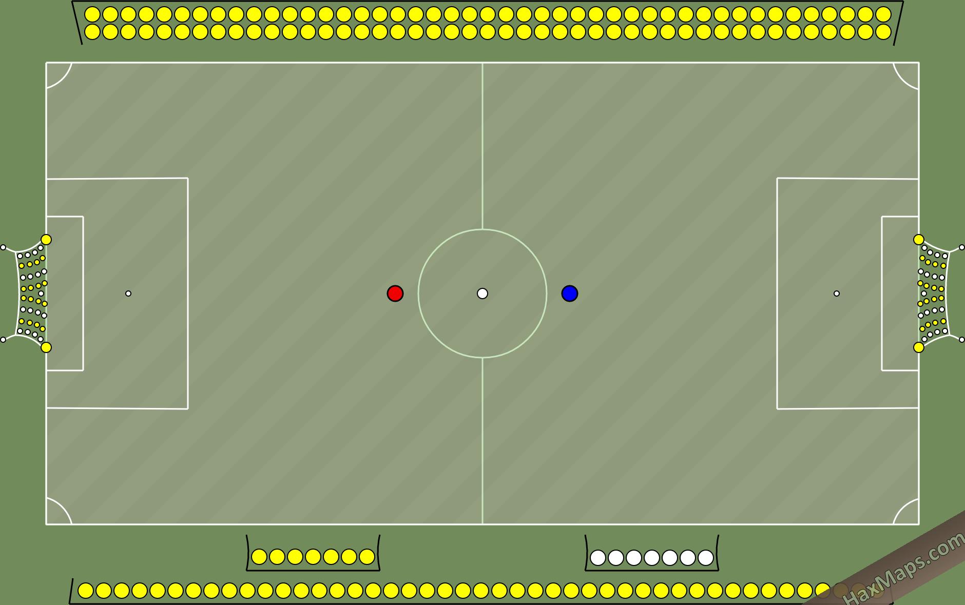 haxball maps | BvB Stadium  Huge