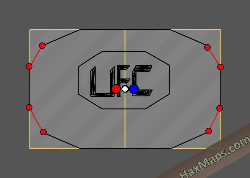 hax ball maps | UFC