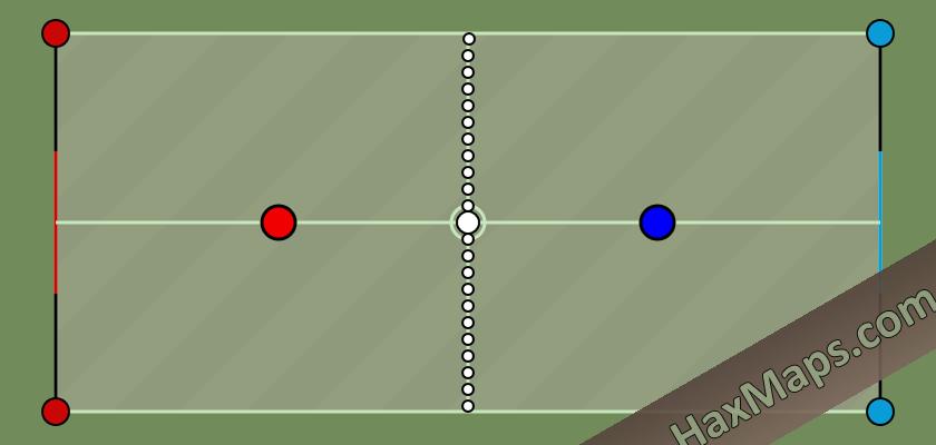 hax ball maps | Tennis « 1v1 PRO v1 » by João Moutinho i GraD™