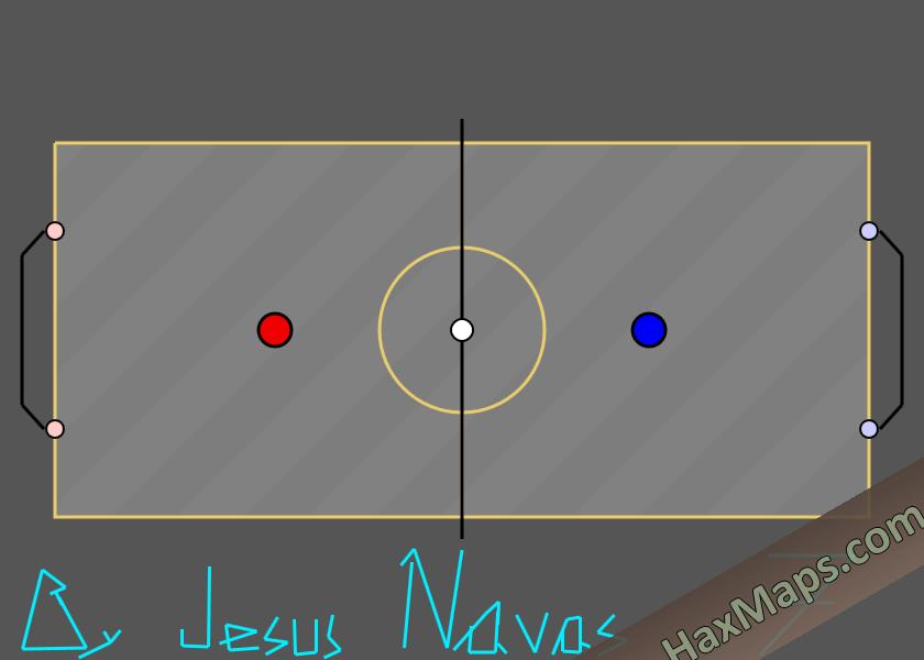 hax ball maps   SpaceSpeedGol by Jesus Navas