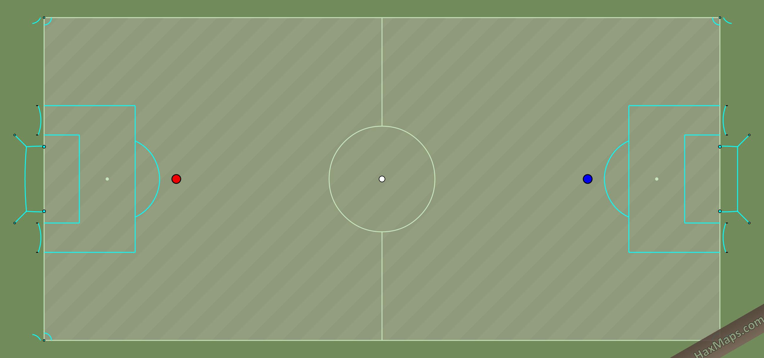 hax ball maps   Real Soccer v4 Blue