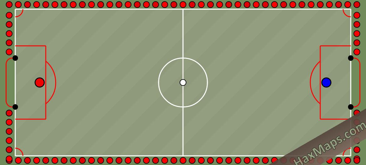 haxball maps | Turkiye Stadı Turkey Stadium