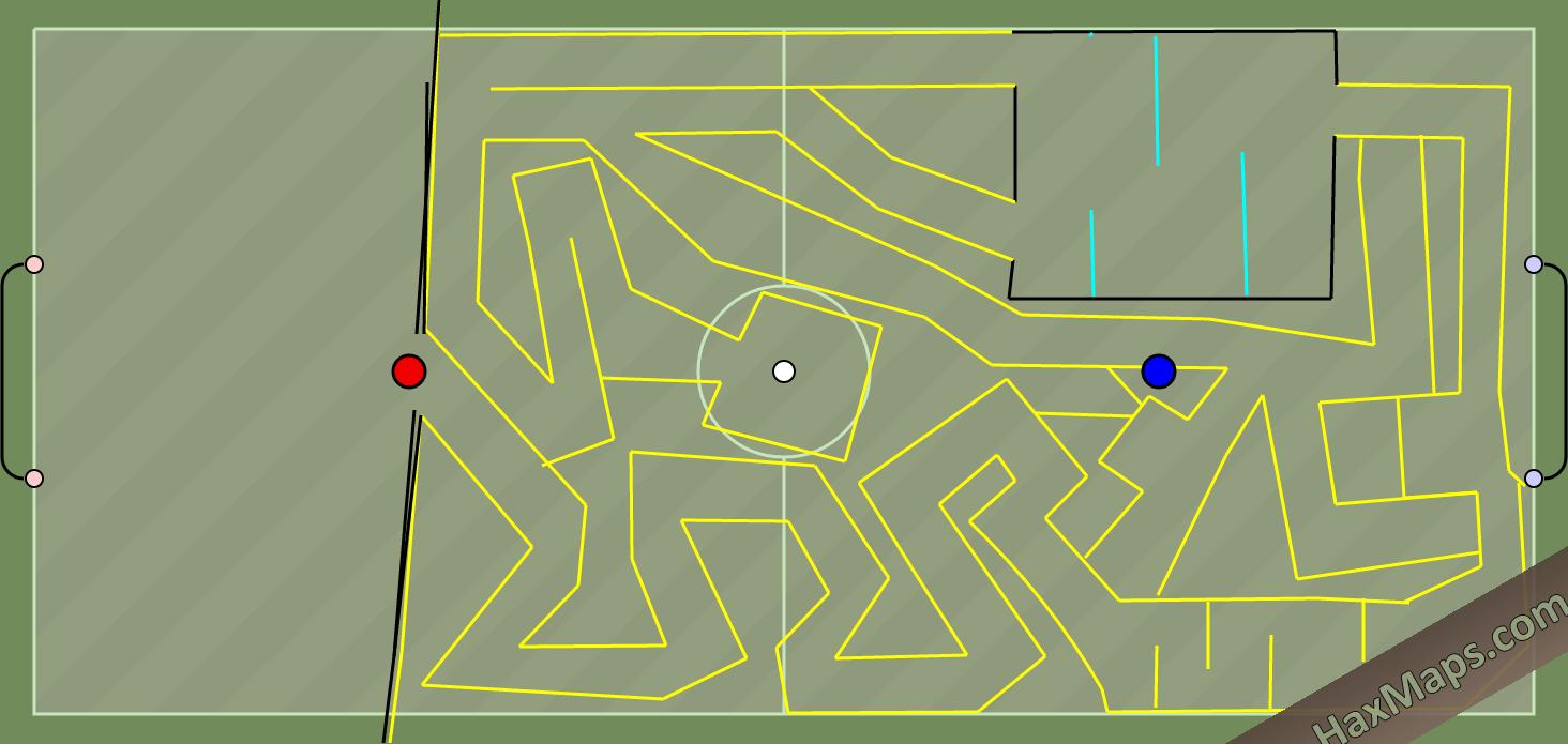 hax ball maps   YELLOW FOOTBALL