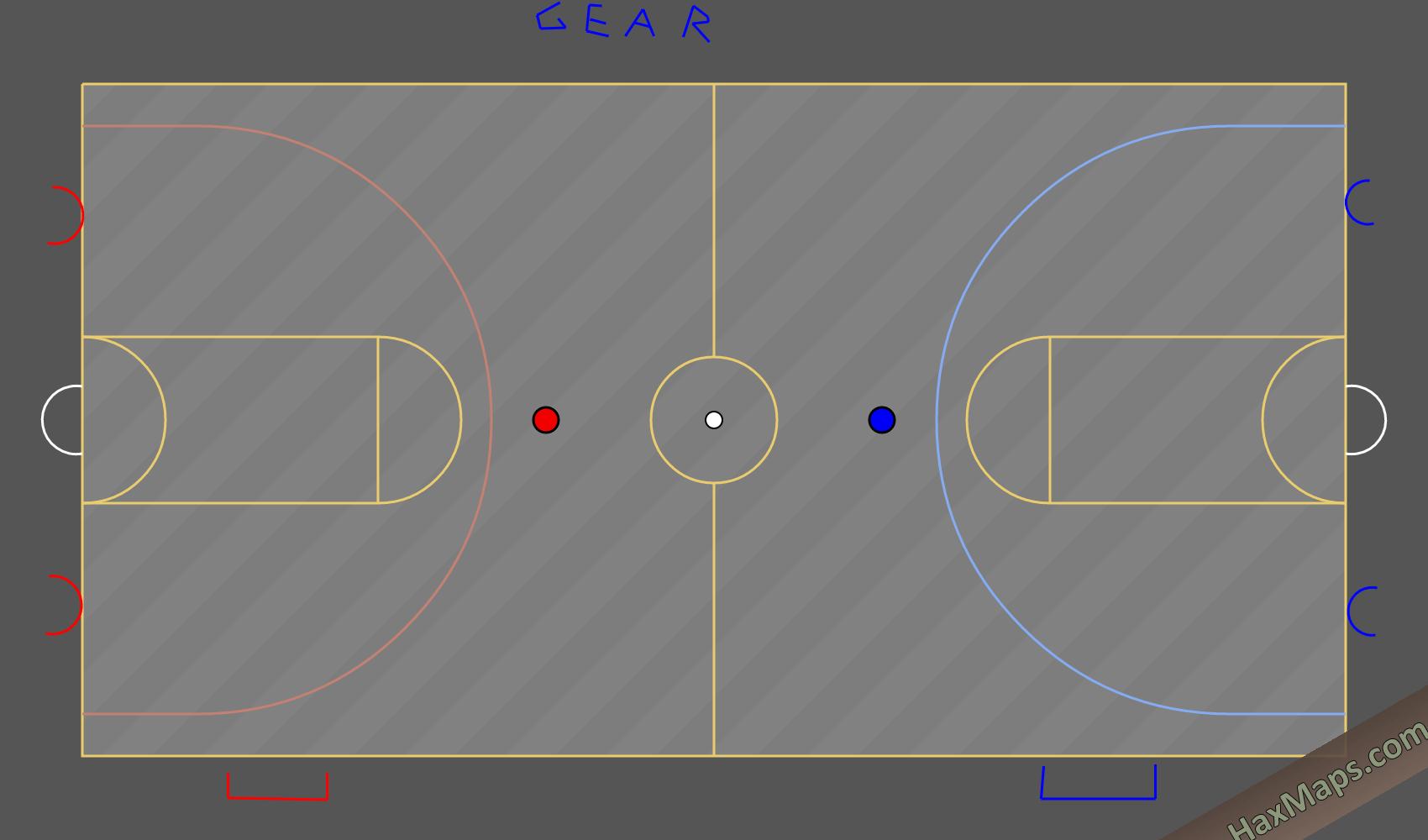 hax ball maps | Gear Basketball REAL 2 Fixed