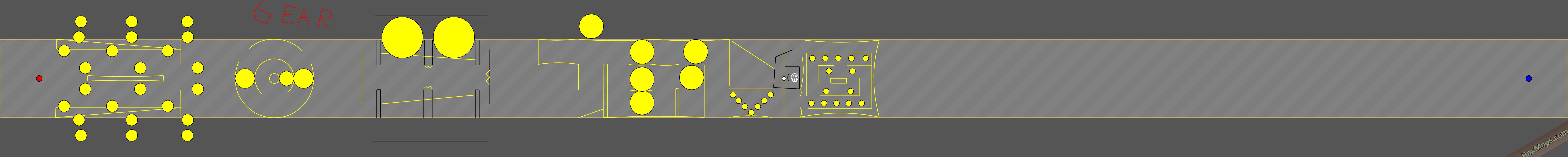 hax ball maps | Gear Yellow Castle