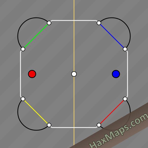 hax ball maps | 4 Man x Man Bounce Corrig