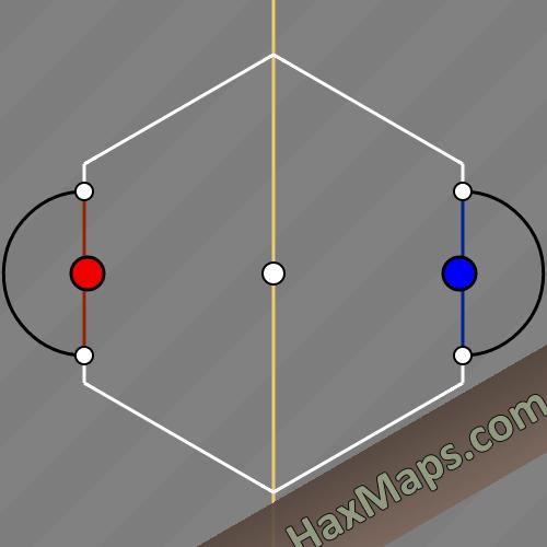 haxball maps | 2 Man x Man Bounce Corrig