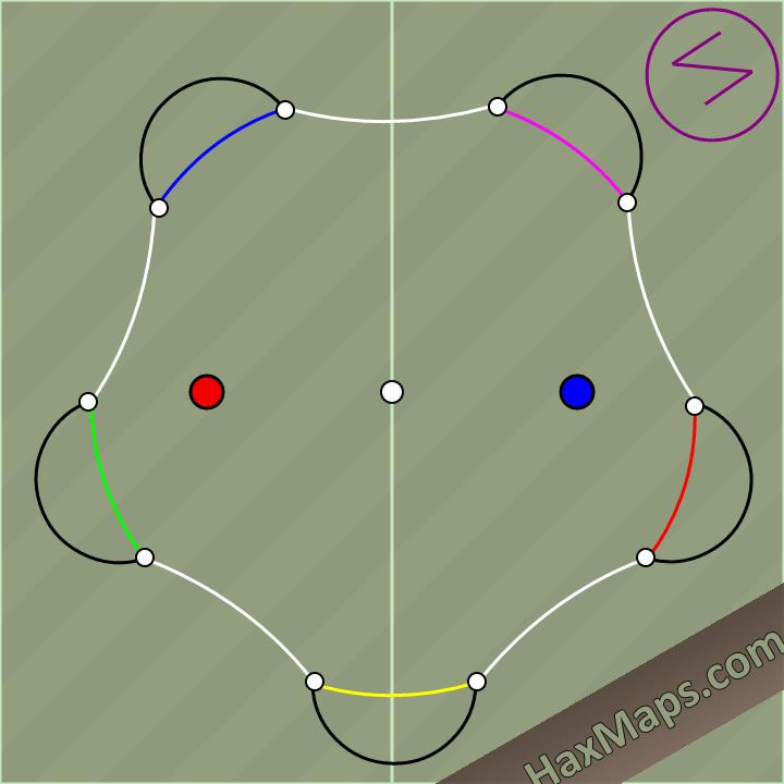 hax ball maps   5 Man By Saii V2.0
