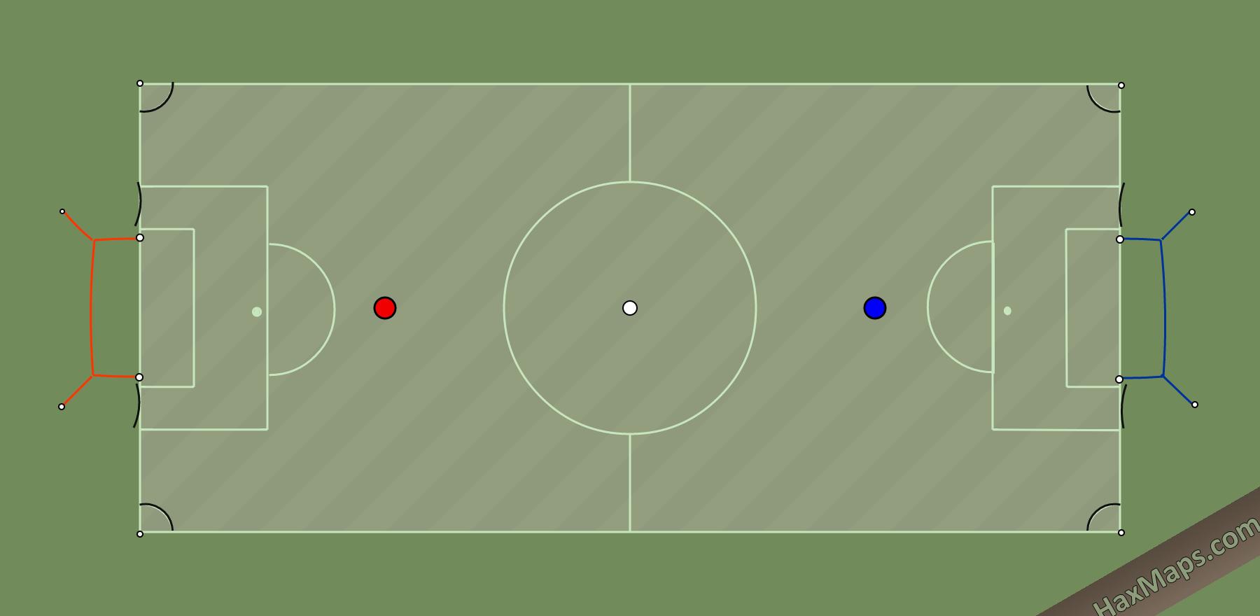 hax ball maps | Mini Real Soccer