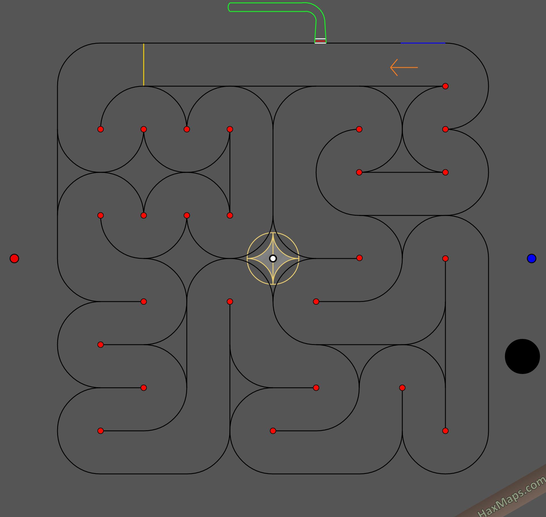 hax ball maps | SnakyBounceRace