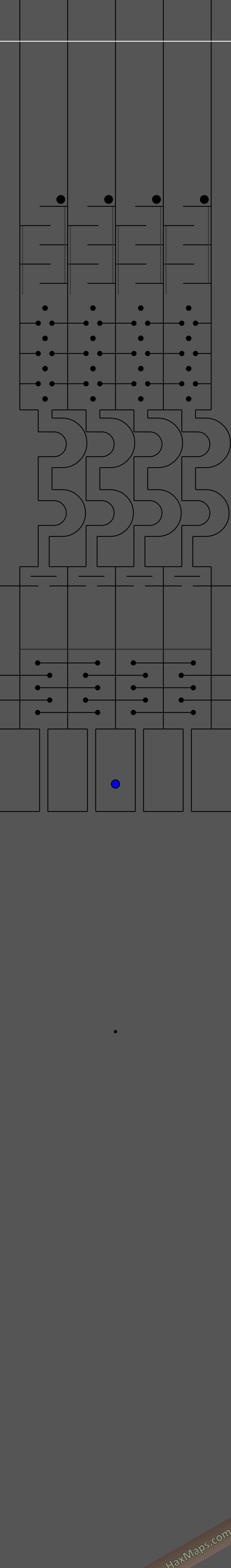 hax ball maps | 4 way race