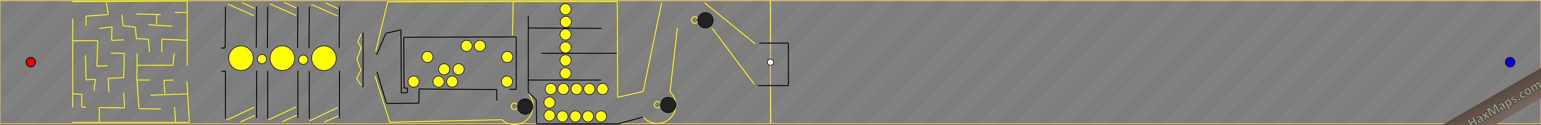 hax ball maps | Yellow2 by XavierM
