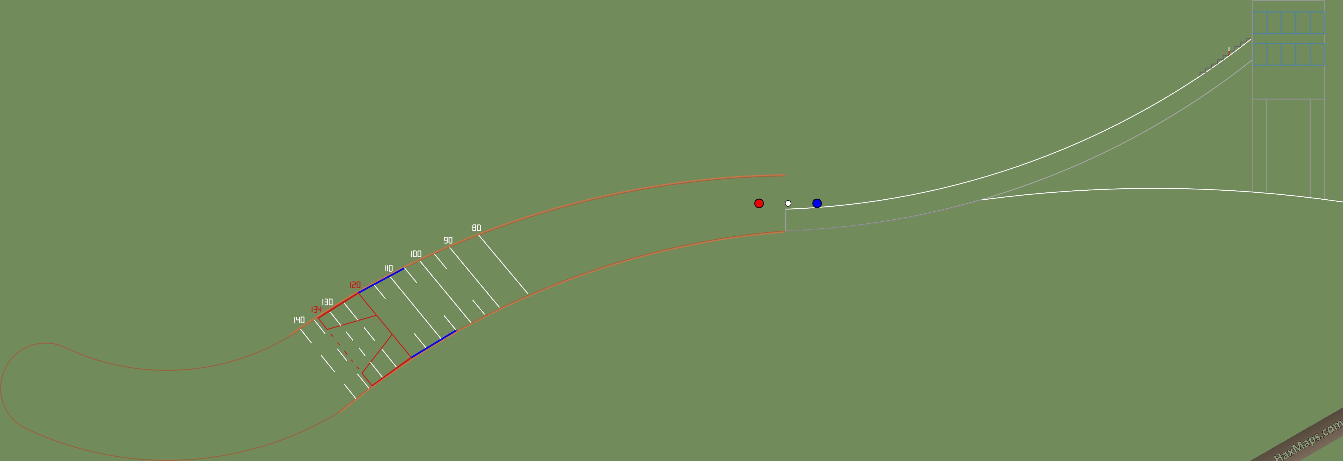HaxMap: NHL Joe Louis Arena 1G | HaxBall Maps