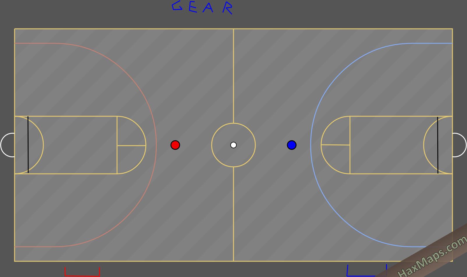 hax ball maps | Korfball by mario ver3