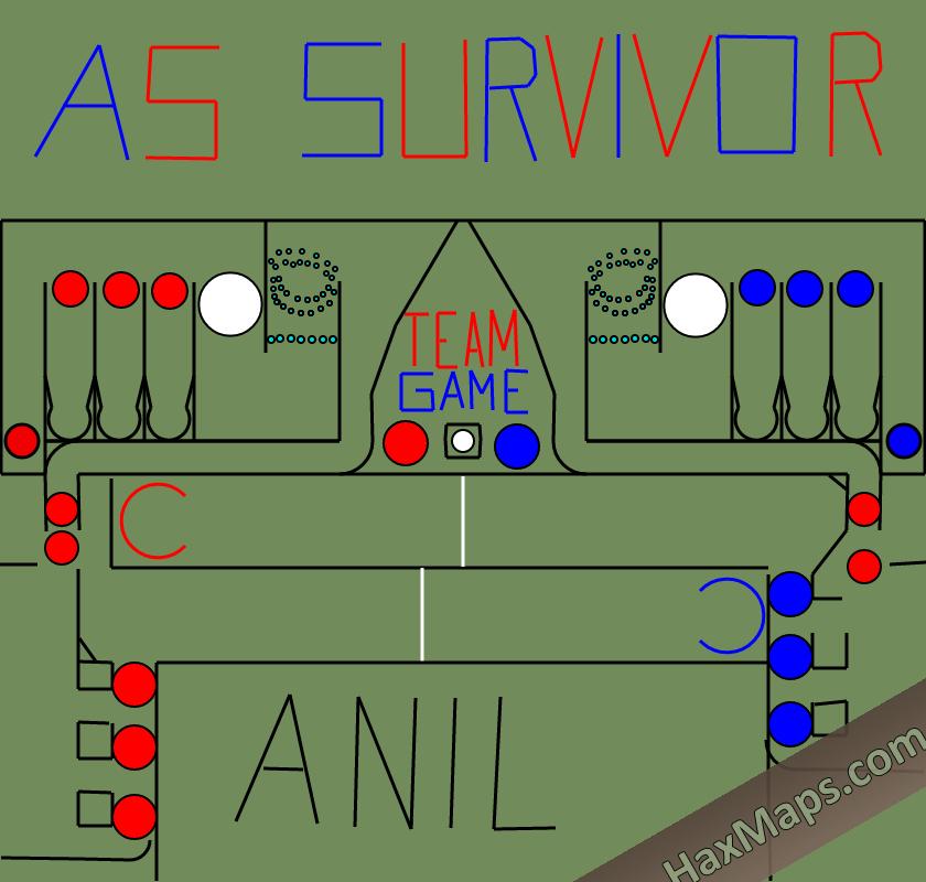 hax ball maps   AS Survivor Team Game 2v2