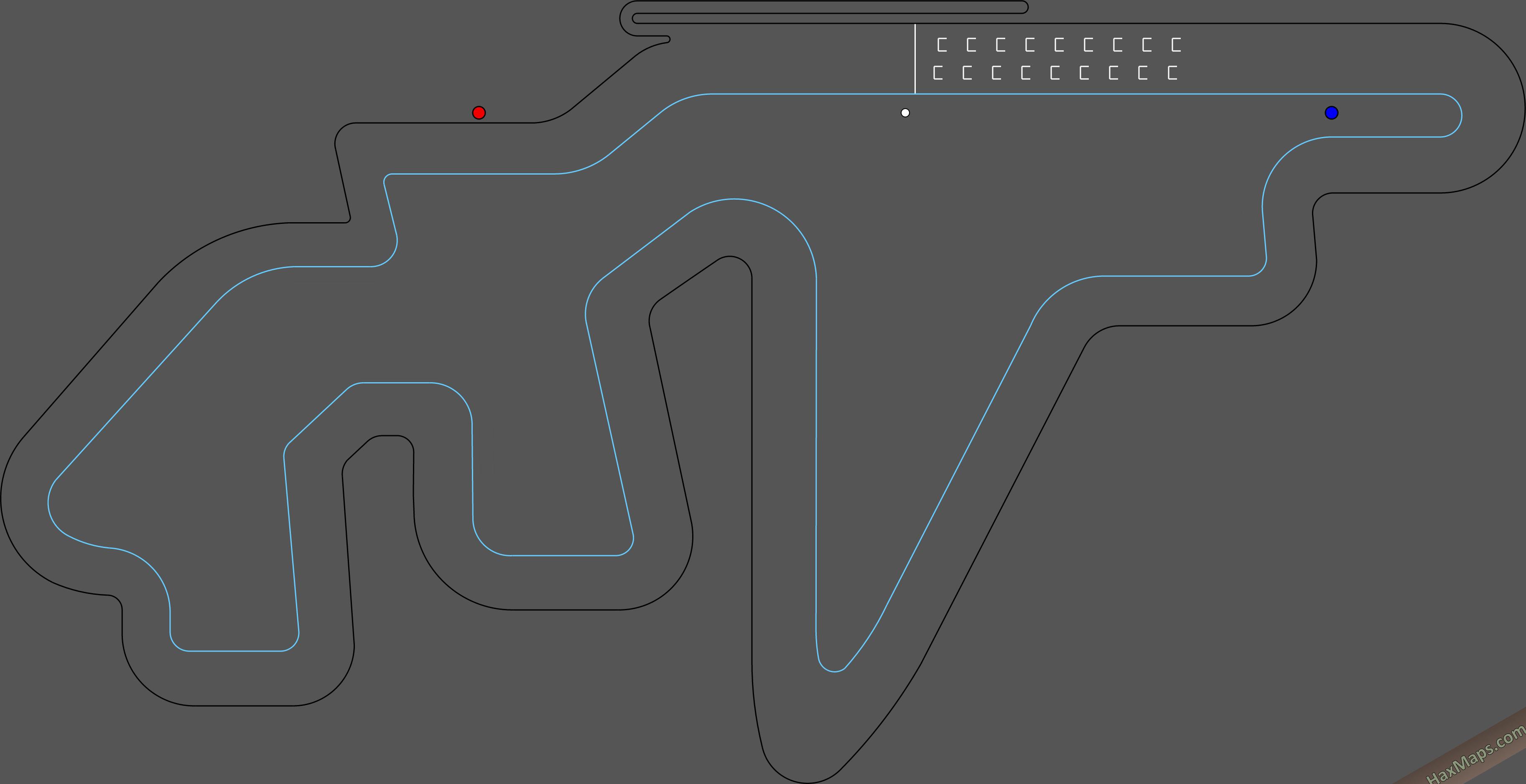 hax ball maps | Yas Marina F1 by Kor GP A