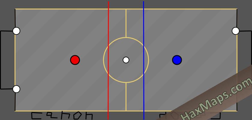 hax ball maps   hockey power 2V2 cannon