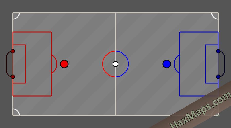 hax ball maps | DeadBall 2v2 Classic by Galactic Boy