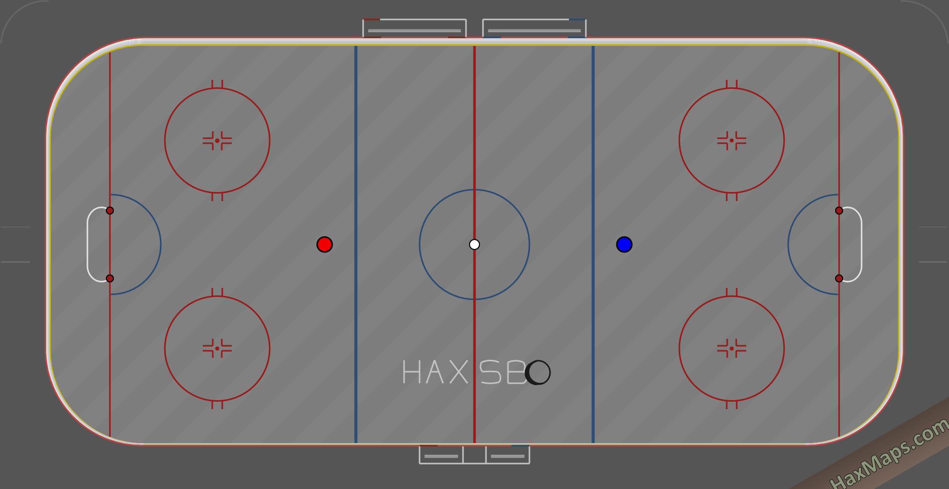 hax ball maps | Spacebounce Hockey NHL HaxSB v2