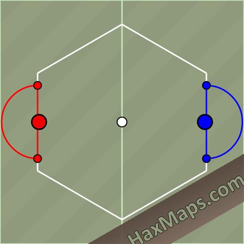 hax ball maps | 2Man from HaxMaps