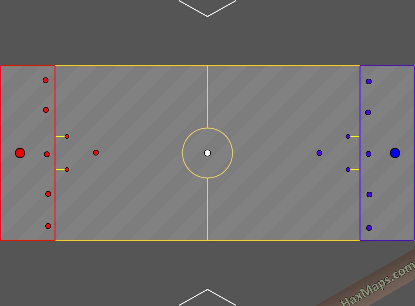 hax ball maps | Space War v2