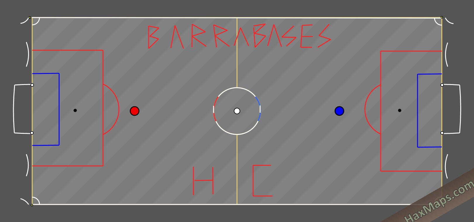 hax ball maps | Estadio Villa Feliz Barrabases HC