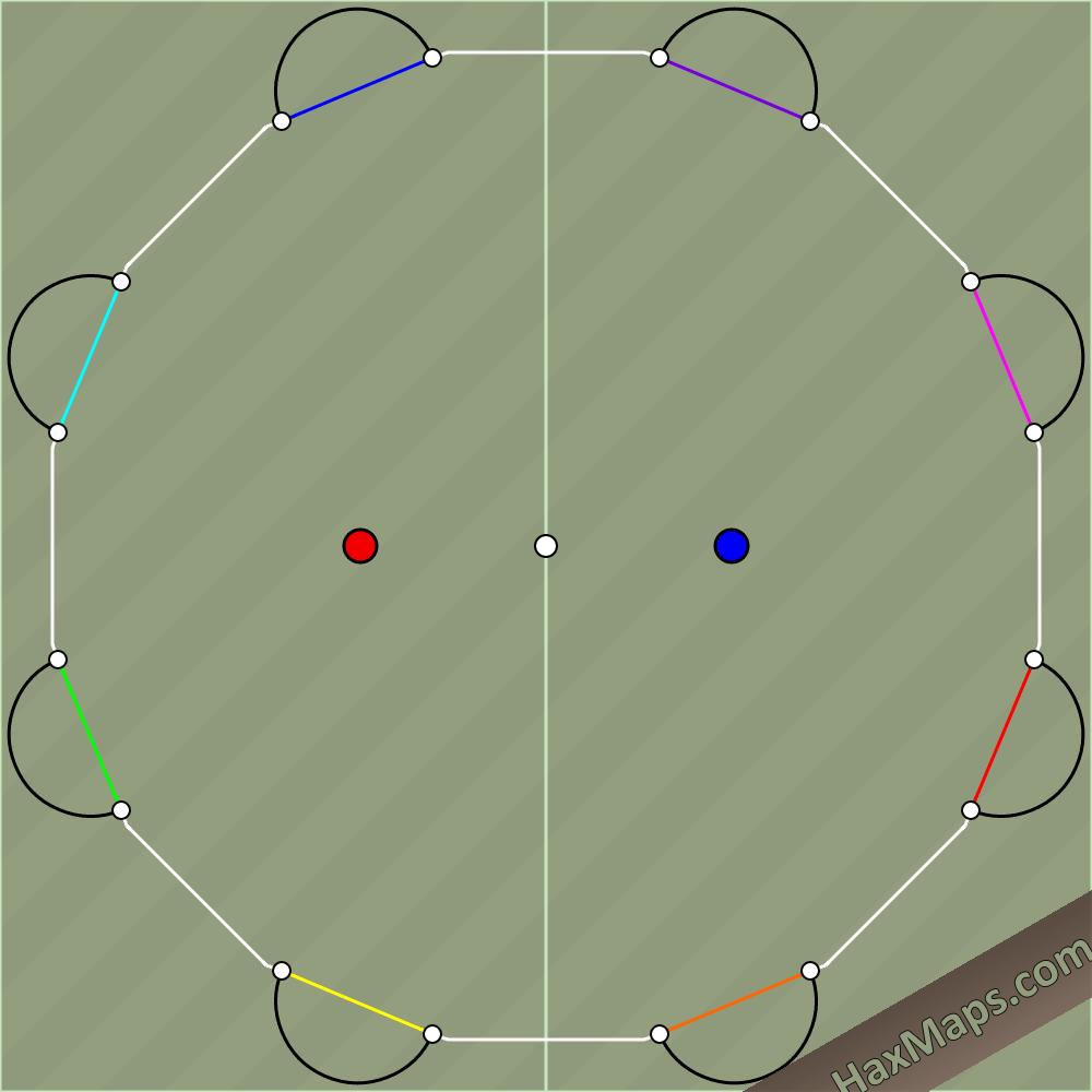 hax ball maps   8 Man   Leo