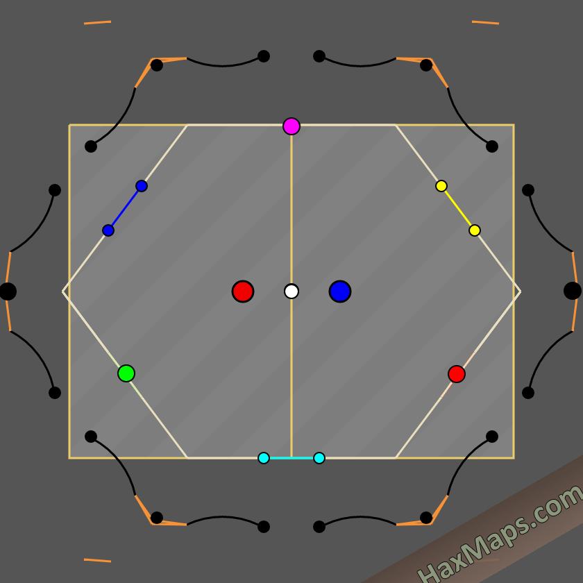 hax ball maps   3man bounce curvewall v 2