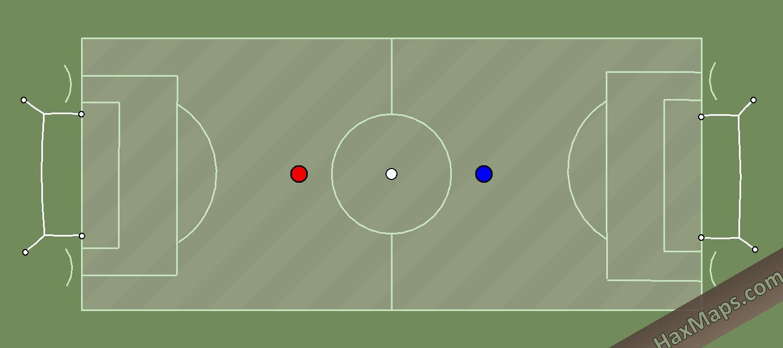 hax ball maps | Mini Real Soccer 2v2 by LSEYY