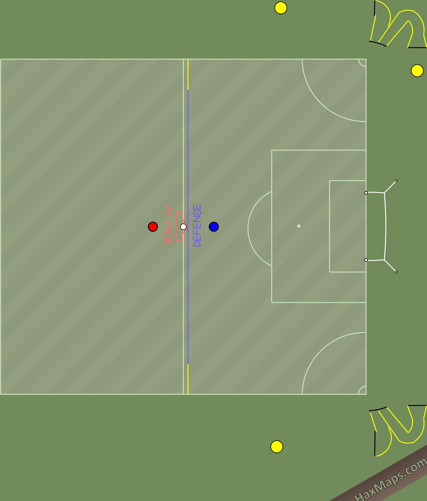 hax ball maps   RS-corner practice.-half