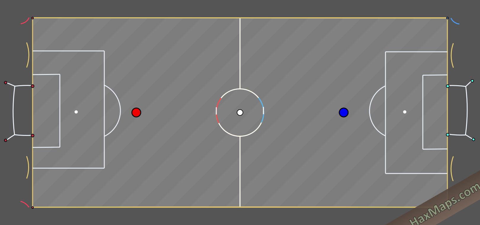 hax ball maps   Mini RS v3 by HaxBall White Night HWN