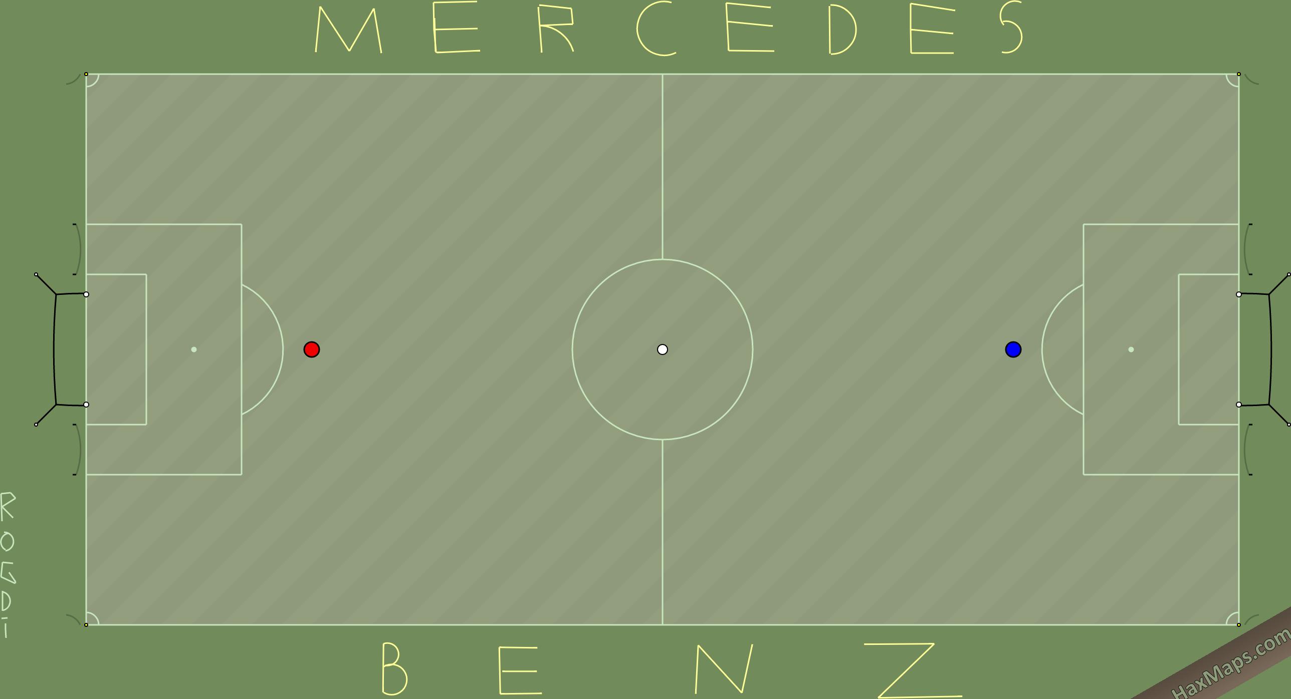 HaxMap: Mercedes - Benz Real Soccer Ligi Maps'Rogdi CanAksu