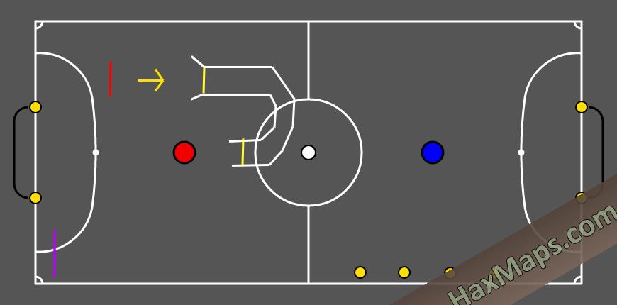 hax ball maps | Training Map Futsal 1v1