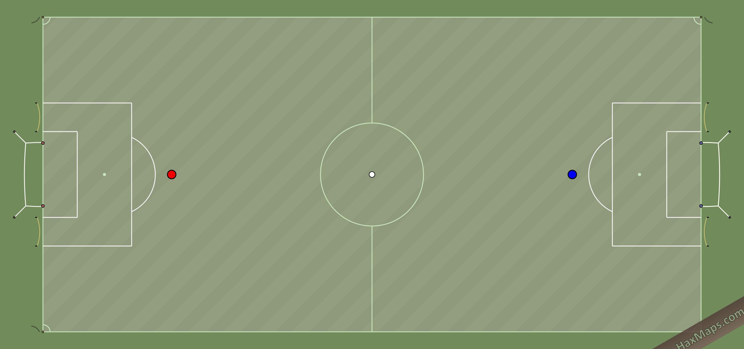 hax ball maps | Real Soccer V5 by HWN HaxBall White Night
