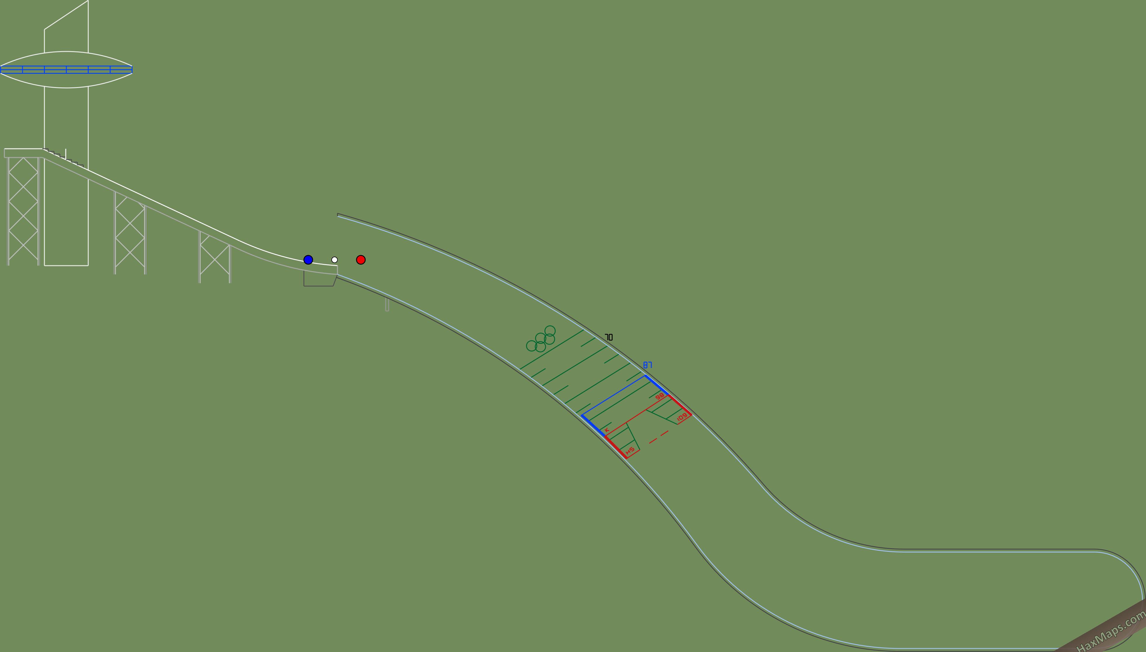 hax ball maps | PyeongChang v2 HS 109 by Wyspy