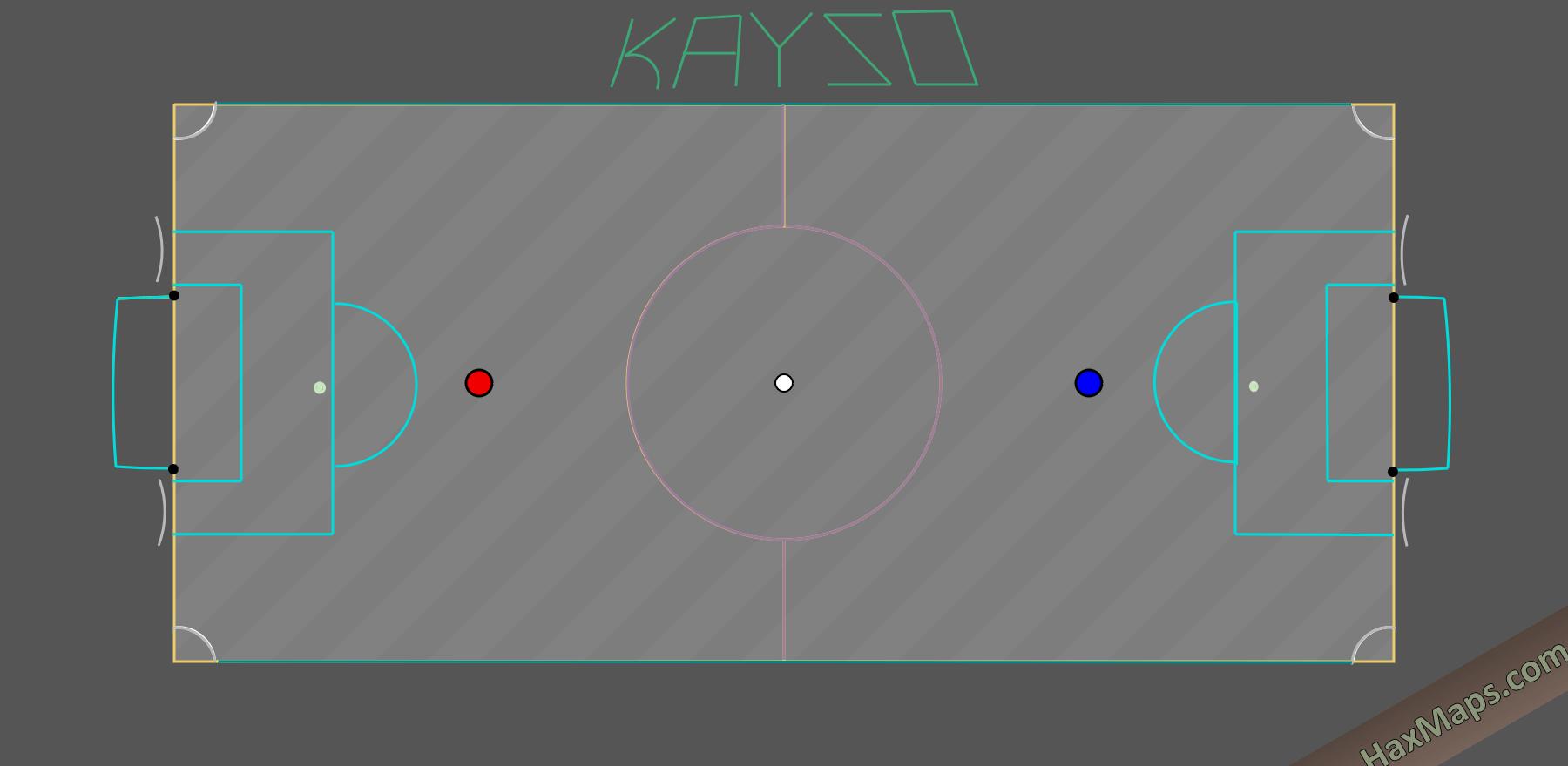 hax ball maps   Kayzo Mini Real Soccer v3