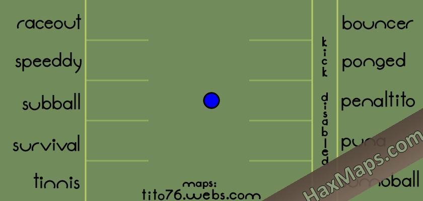 hax ball maps | sELECTION