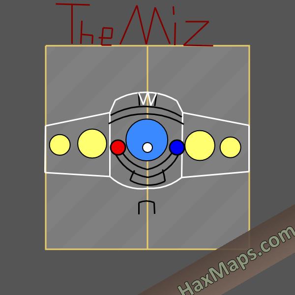 hax ball maps   WWE Intercontienental Title by The Miz