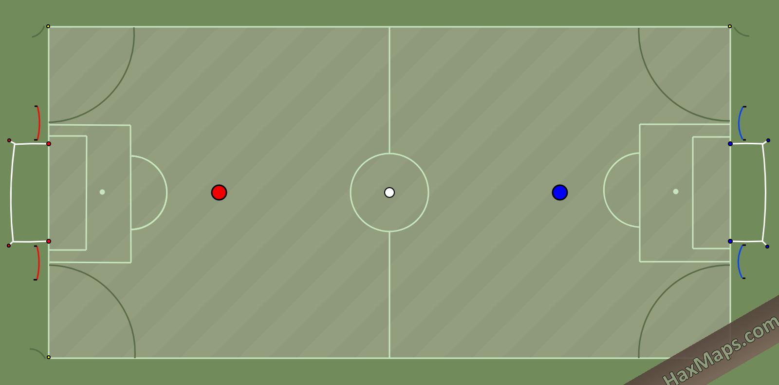 hax ball maps | Mini Real Soccer 3v3