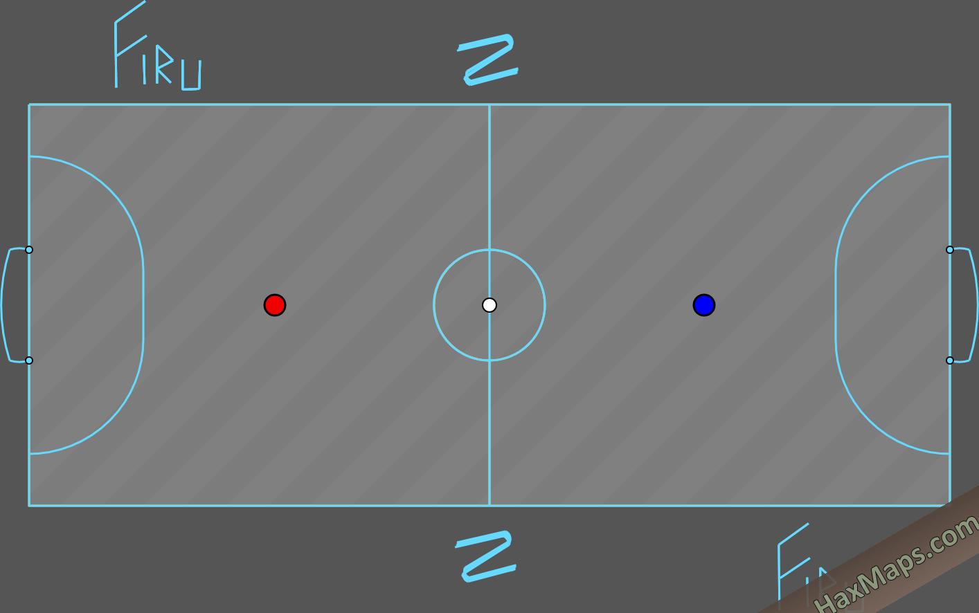 haxball maps | FutsalBounce Firuleiro By ☡onic