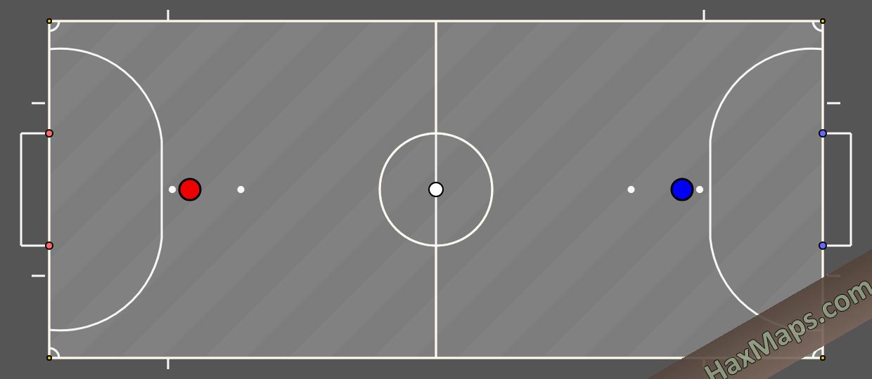 haxball maps | Futsal x3  by Bazinga