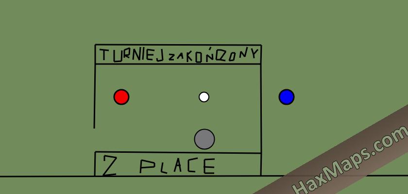 haxball maps | podium do turnieju na 2nd