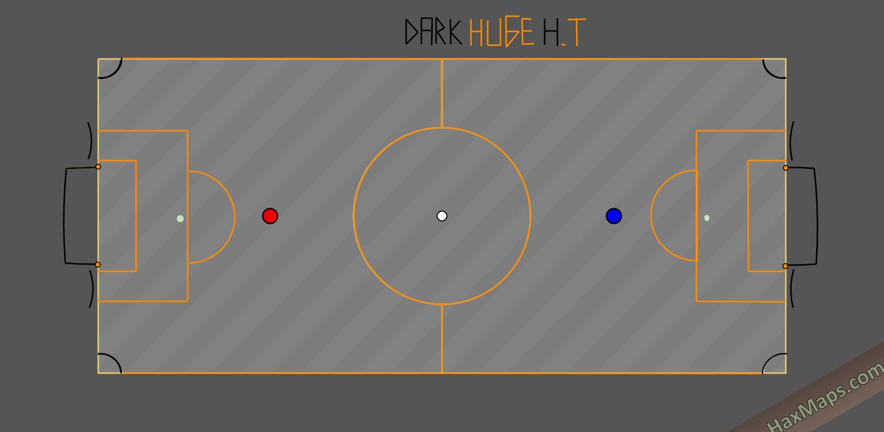 haxball maps | Mini Real Soccer Dark Huge