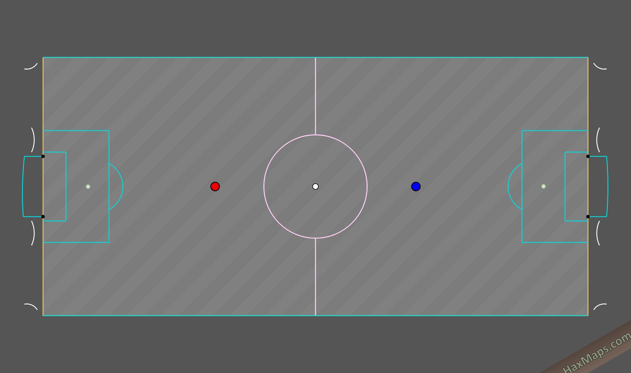 haxball maps | Duvarlı Real Soccer v1_6