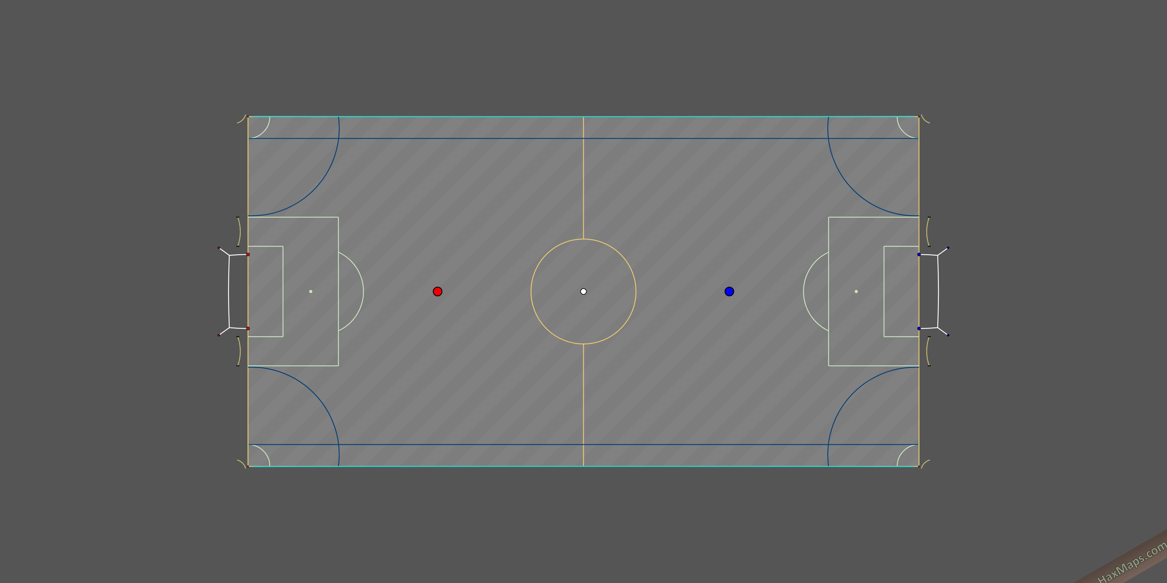 hax ball maps | Powerli Real Soccer V2