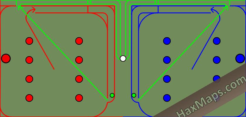 hax ball maps | Teamwork by Perdalas 1v1