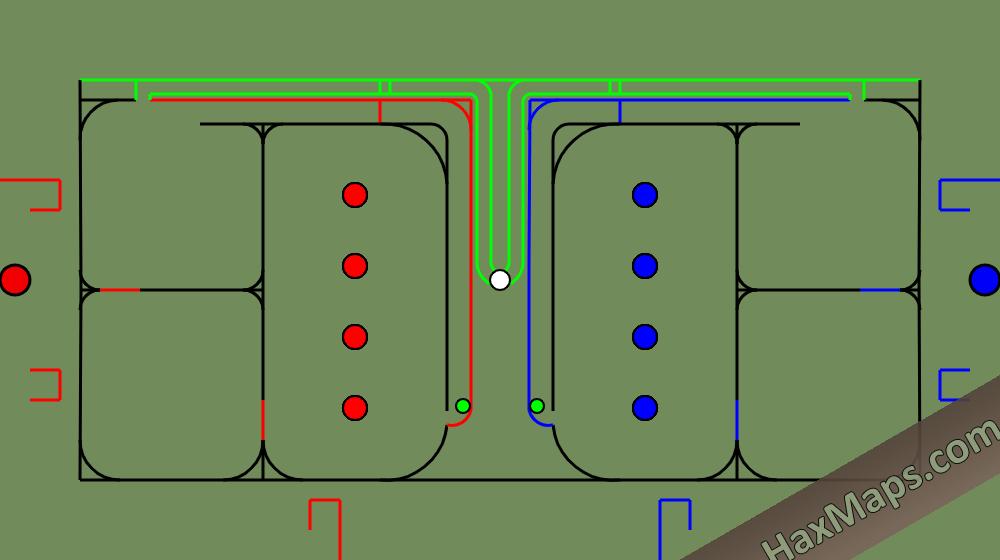 hax ball maps | Teamwork by Perdalas 3v3