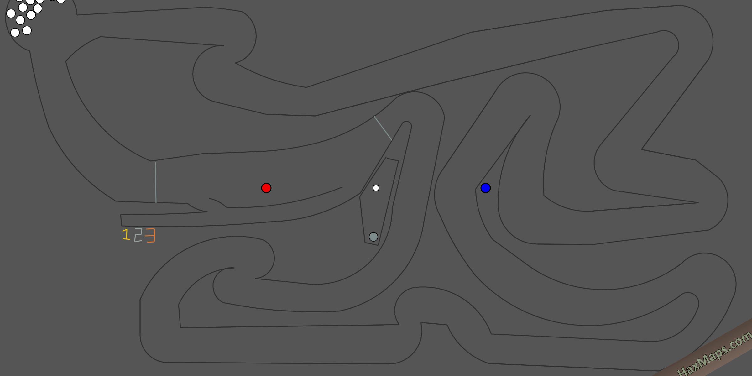 hax ball maps | HaxRacing Ephemeris Track